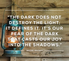 The Dark does not destroy the Light